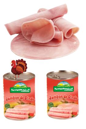 Canned turkey ham